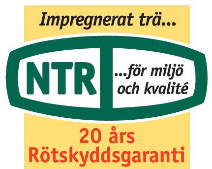 NTR - 20 års garanti på tryckimpregnerat