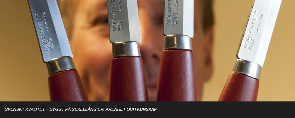 Kniven från Mora är en vass klassiker