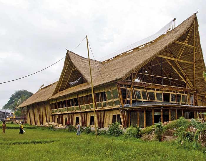 Världens största bambubyggnad