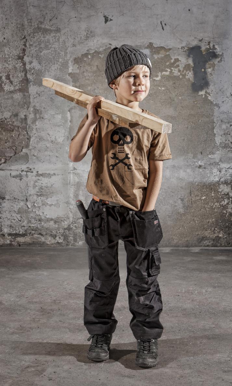 Kläder för små jobbare
