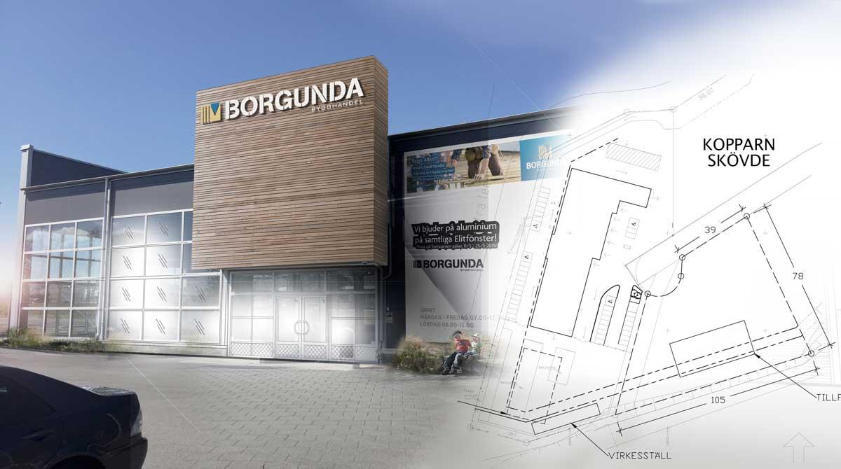 Borgunda Bygghandel AB utökar verksamheten