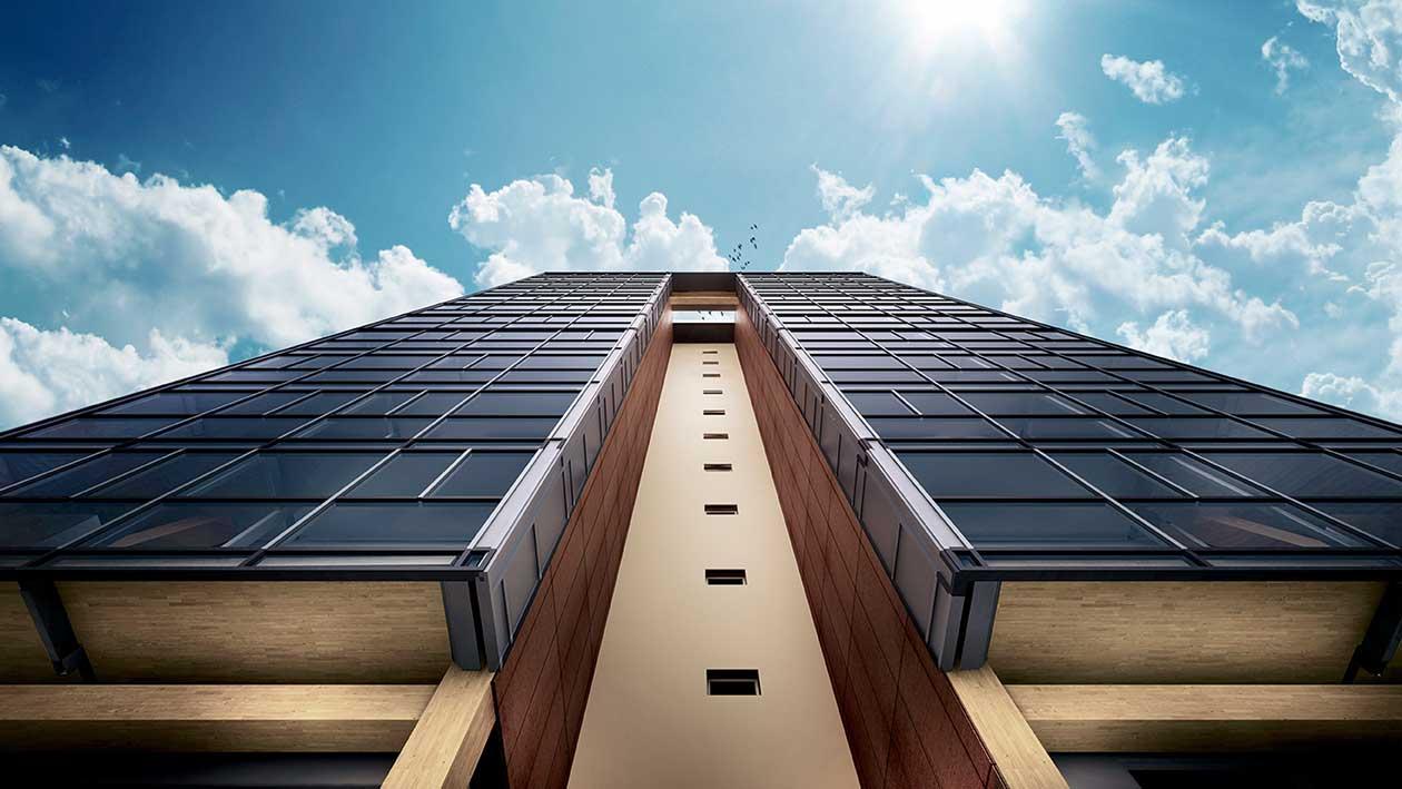Världens högsta bostadshus i trä