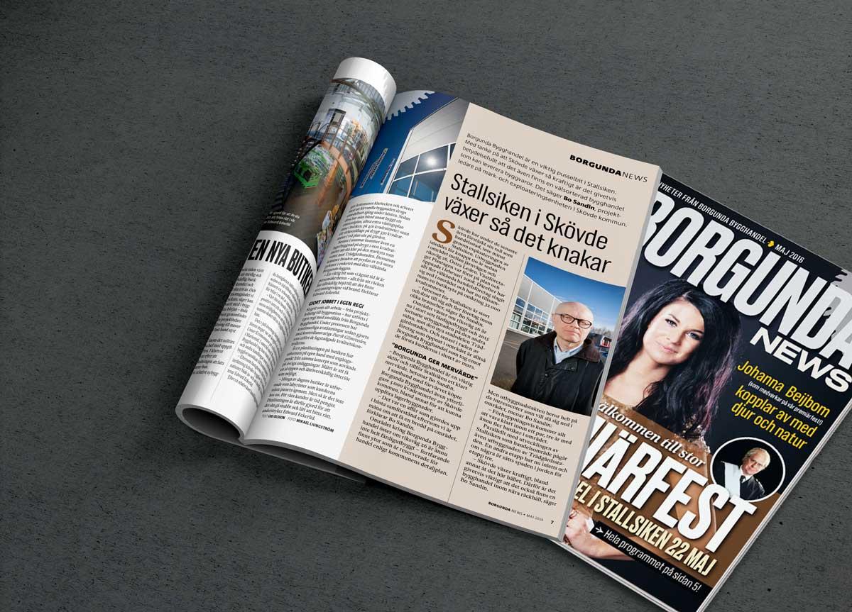 Nytt Borgunda News ute nu