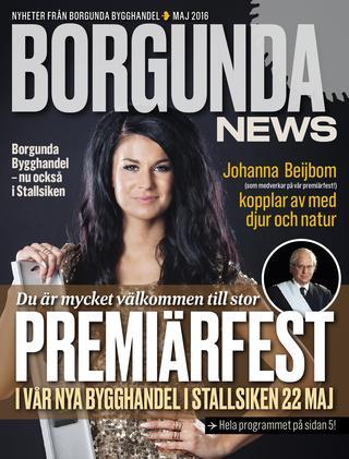 Borgunda News Maj 2016