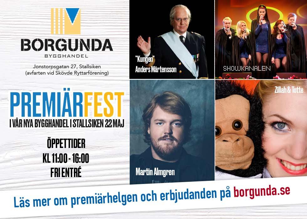 Premiärfest i vår nya anläggning i Stallsiken Skövde