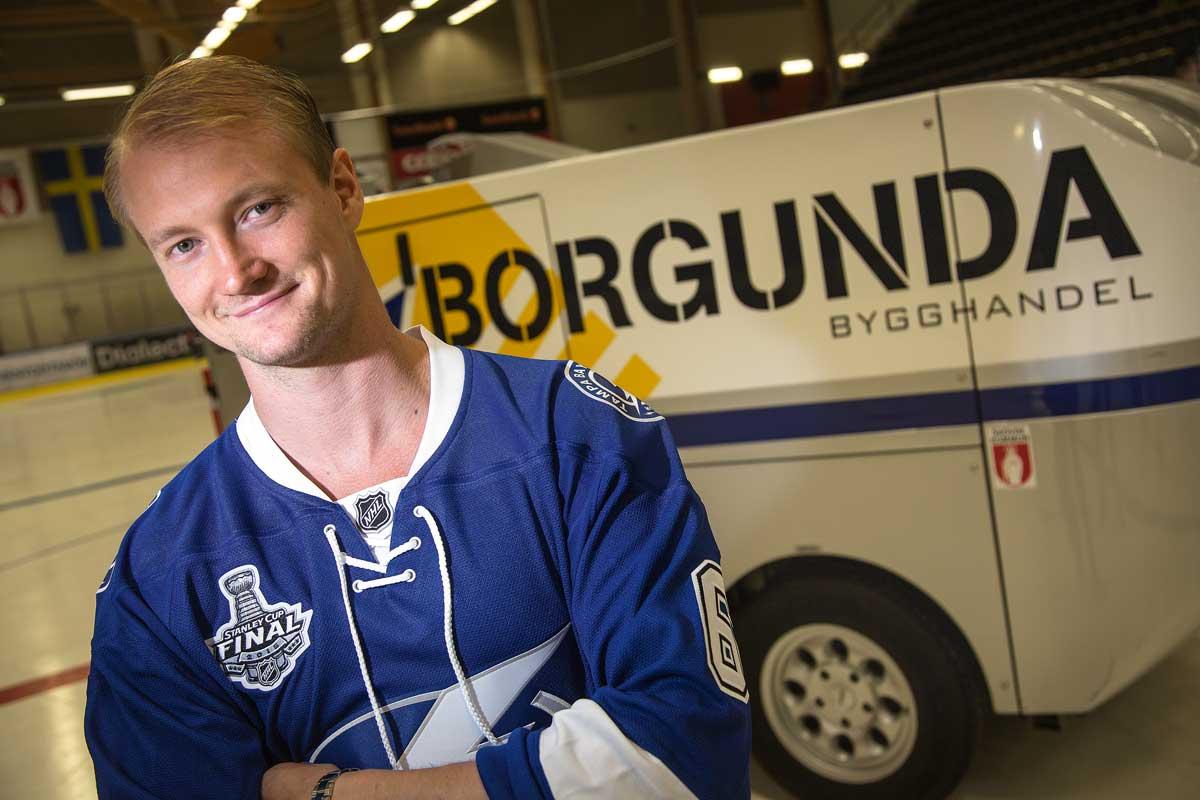 Anton Strålman lever sin dröm som hockeyproffs i NHL