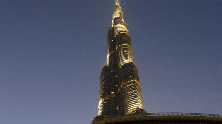 Dubai med alla sina skyskrapor