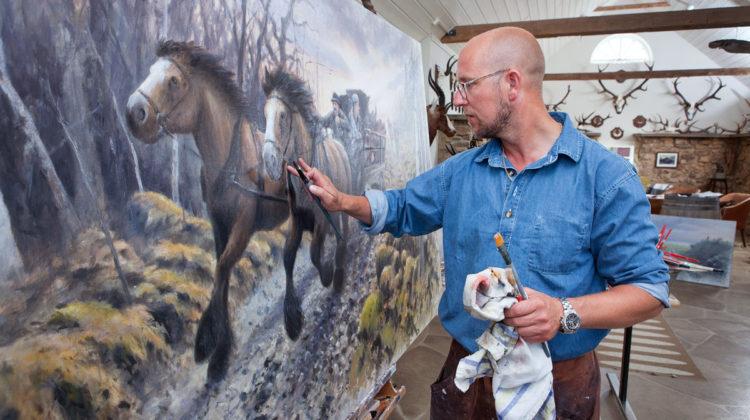 Göran Löfwing kan konsten att locka en stor publik