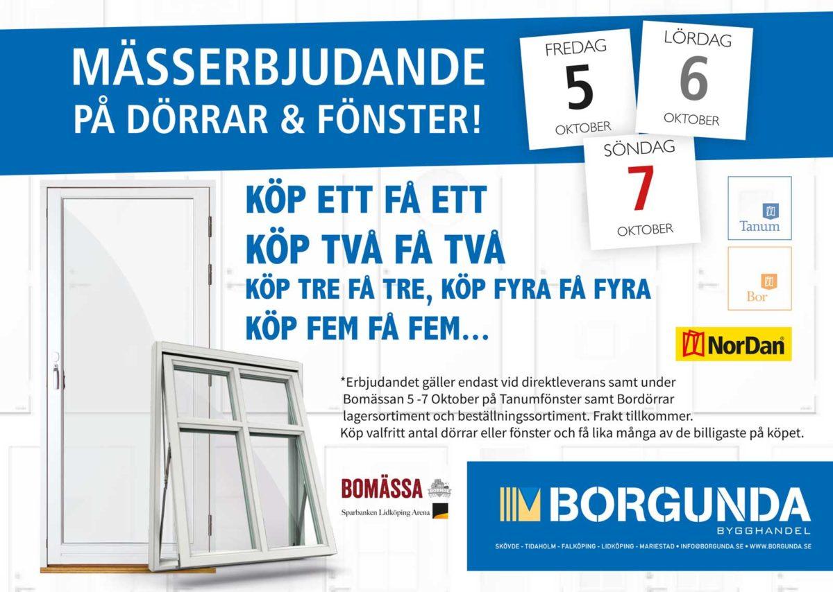 Oemotståndliga mässerbjudanden på Bomässan i Lidköping
