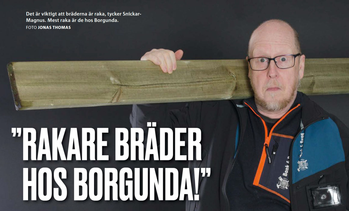 Magnus på Bonk och Bygg