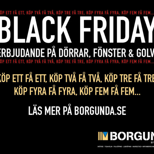 Black Friday hos Borgunda