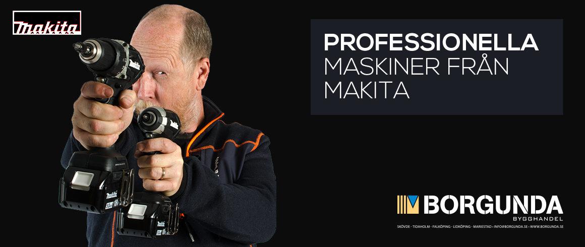 Maskinkampanj på utvalda Makita produkter