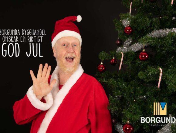 Julkampanj hos Borgunda