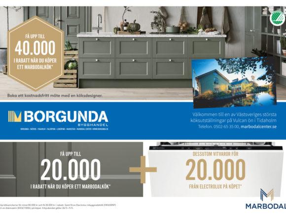 Kökskampanj på Marbodal kök – få upp till 40 000 kr i rabatt