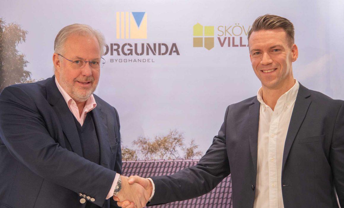 Borgunda Bygghandel AB förvärvar majoriteten i Skövdevillan AB
